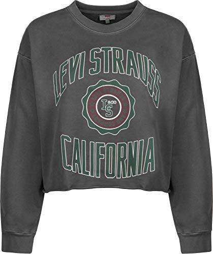 Levi's  ® Graphic Raw Cut Crew W Sweater Varsity Crew