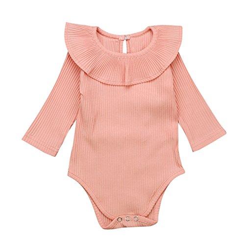 DAY8 Vêtements Bébé Fille Hiver Ensemble Bébé Fille Naissance Pyjama Bébé  Fille Mode Combinaison Bébé Fille 8b74f109fc8
