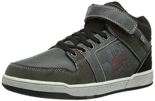 s.Oliver - 43101, Sneaker a collo alto Bambino Grigio (Grau (STONE 205))