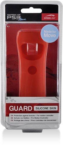 Speedlink Guard Silikon Schutzhülle für den Playstation 3/PS3 Move Motion und Navigation Controller, rot (Controller Ps3 Navigation)