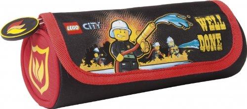 LEGO CITY POMPIERS GRANDE TROUSSE D'ÉCOLE - NOUVEAUTE - LICENCE OFFICIEL
