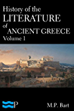 History of the Literature of Ancient Greece, Volume 1