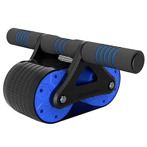 CKR Stepper Bauchmuskeln Körpertraining Gym Roller Bauchmuskeln Krafttraining Fitnesstrainer,Blau