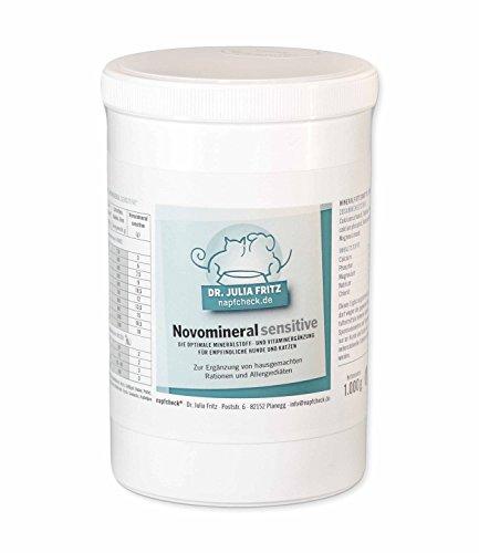 Napfcheck ® Novomineral sensitive - Mineralien und Vitamine für Hund & Katze - 1000 g
