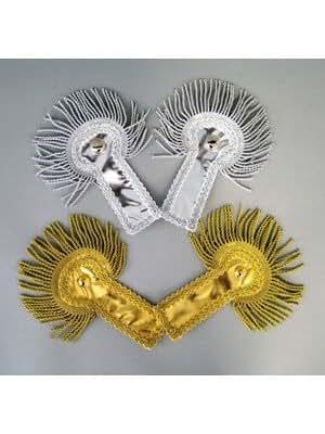 une paire d'épaulettes, de l'or