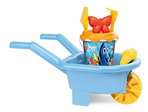 Smoby - 7600864000 - Set de Seau et Brouette - Disney - Le Monde de Dory