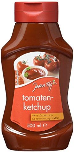 Für Jeden (Jeden Tag Tomatenketchup Pet, 500 ml)