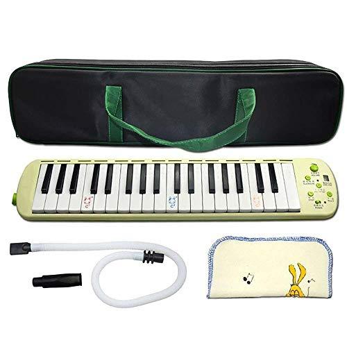 JIAXING Melodica 37 tasti melodica elettronica per bambini principianti studenti con borsa per il trasporto