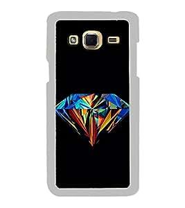Colourful Diamond 2D Hard Polycarbonate Designer Back Case Cover for Samsung Galaxy J3 2016 :: Samsung Galaxy J3 2016 Duos :: Samsung Galaxy J3 2016 J320F J320A J320P J3109 J320M J320Y