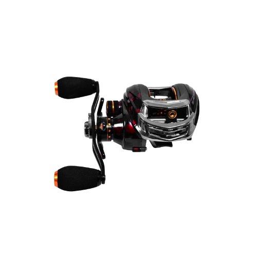 EverTrust (TM) UK Trulinoya TS120014BB 6.3: 1mano destra Pesca Pesca in mare esca Casting Reel 13+ 1cuscinetti a sfera + One-way frizione Rosso