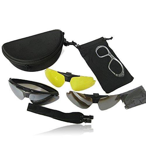 00Schutz Daisy C1Airsoft Motorrad Sonnenbrille Jagd Outdoor Brillen Motor Brille für Herren Kit Herren Combat Krieg Spiel Gläser ()