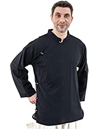 - Chemise tibetaine homme ouverture laterale - XXXL - (48-50)