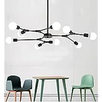 $Beleuchtung Moderne 9 Licht Kronleuchter Multi Einstellbare Kronleuchter  Beleuchtung Golden Sputnik Küche Insel