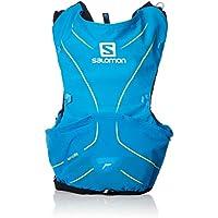Salomon L40410500 Zaino Leggero Idrico per Corsa/Escursionismo ADV Skin 5 Set, Capacità di 5 l, Blu (Hawaiian Surf/Night Sky), M/L