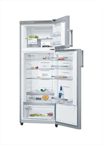 Bosch 347 L Frost Free Double Door 4 Star Refrigerator (KDN43VL40I, Inox)