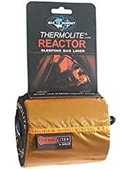 Sea to Summit Reactor Thermolite® Mummy Liner Long Black