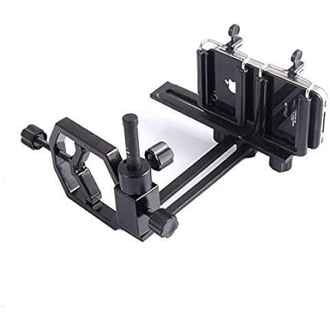 JOYOOO Adaptador universal con 2 Soportes para cámaras digitales y digiscoping