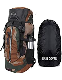 POLESTAR Hike CAMO Rucksack with RAIN Cover/Trekking/Hiking BAGPACK/Backpack Bag