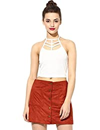 22a49635e19 Crop Tops Online: Buy Short Tops, Crop Tops with Saree for Women ...