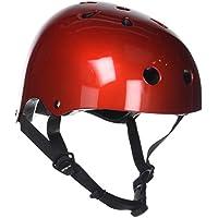 SFR Essentials Helmet Casco, Unisex para Adulto, Rojo (Metallic Red), L/XL