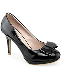 Shuz Touch Black Heels & Stilettos