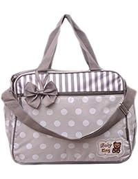Mother Bag Nappy Changing Bag Maternity Bag White Dot Printed