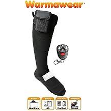 Warmawear beheizbare Socken mit DuoWärme Aufbewahrungsfach, 3 Wärmestufen und Fernbedienung