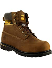 Cat Footwear Holton S3 - Botas de seguridad para hombre