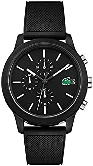 Lacoste Mens Quartz Watch, Analog Display and Silicone Strap 2010972