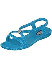 Suchergebnis auf Amazon.de für: damen sandalen türkis