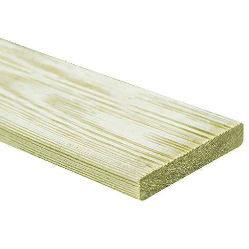 *Festnight- Terrassendielen 10 Stück in Ihrem Garten,Ihrer Terrasse Umweltfreundlich Witterungs- und Verrottungsbeständig Umfasst 10 Terrassendielen 150 cm Holz*