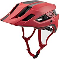 HELMET FOX FLUX RUSH CARDINAL L/XL