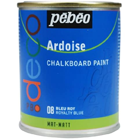 Pebeo - Pintura de pizarra (250 ml), color azul