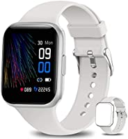 NAIXUES Smartwatch, Orologio Fitness Uomo Donna Impermeabile IP68 Smart Watch Bluetooth Cardiofrequenzimetro d
