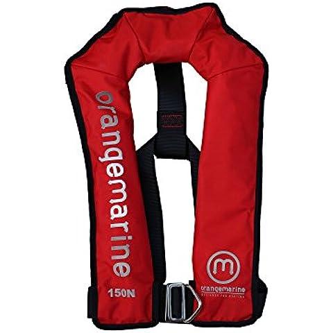 Giubbotto di salvataggio gonfiabile automatico con cintura 150 N - Rosso - Giubbotti di salvataggio Orangemarine