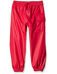 Hatley Childrens Splash Pant -Red - Pantalones impermeable Niños