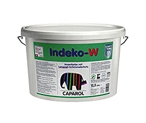 Caparol Indeko-w Pittura Lavabile Speciale Resistente alle Muffe Lt. 12,5