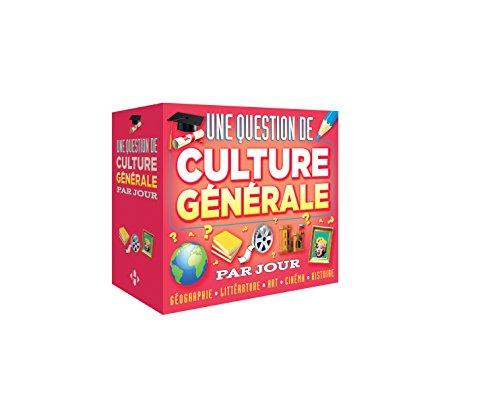 Une question de Culture générale par jour 2016