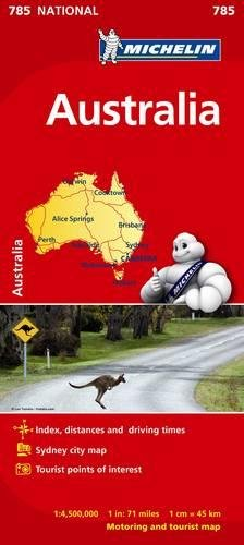 Australia - Michelin National Map 785 (Michelin National Maps) por Michelin