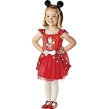 Rubie's - Disfraz de Minnie Mouse ballerina en caja corazón con accesorios (883268-S)