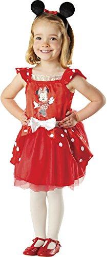 Imagen de rubie's  disfraz de minnie mouse ballerina en caja corazón con accesorios 883268 s