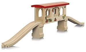 Eichhorn 100004970 - Tunel de Madera para vías de Tren (5 Piezas, 61 cm) (Simba Dickie)