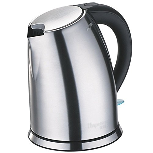 GPC Electric Kettle Stainless Steel Color Three Layers of Anti-Hot 1850W 1.7L Base Separation Automatic Power off Insulation Home Travel Electric Kettles