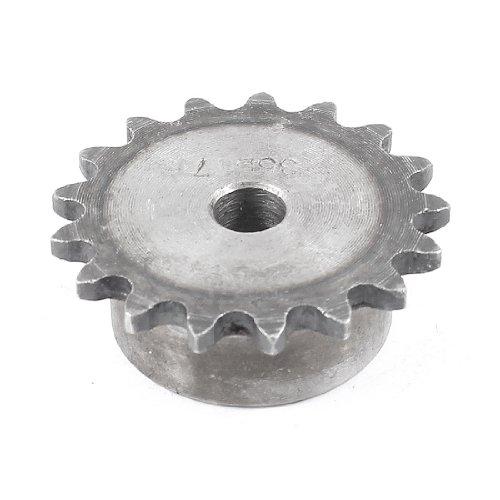 sourcingmap® Industrielles Betrieben Ersatz 10mm Innendurchmesser Kettenrad 17 Zähne 35B17T