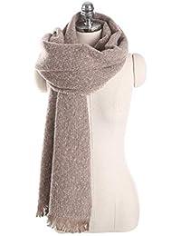 Bufanda Con Flecos En Blanco Y Negro Damas Gruesas Pañuelo Para El Cuello  Primavera Otoño Invierno 4f4f618ca81