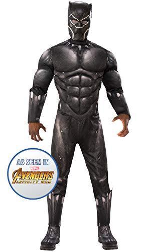 Rubie's, Costume Ufficiale Avengers Black Panther, da Uomo