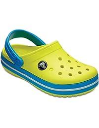 crocs Unisex-Kinder Crocband K Clogs, blau, 28,5 EU