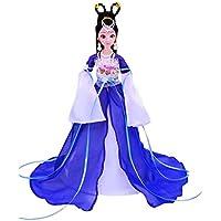 Elegante traje chino antiguo personas muñecas niñas princesa ...