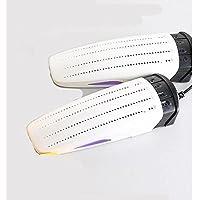 Ntelligent Zapatos Secador Luz Púrpura Esterilización Desodorante Zapato Secador Retráctil Zapato Calentador Función De Sincronización Arranque Secadora Calzado Hornear Tostadora Hogar Fragancia Zapatos Secador,White