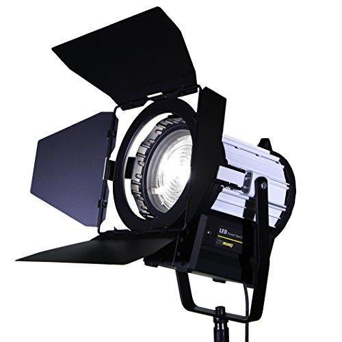 HWAMART® Mise au point en continu 70W LED Fresnel Spot Light Daylight projecteur dimmable studio sans scintillement comme arri SuperQuality